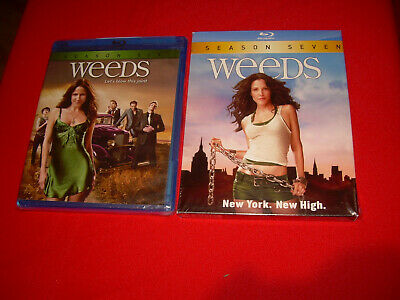 2 New Sealed Blu-ray Season Six 6/7 Seven WEEDS DVD BLURAY Disc