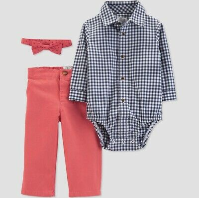 NWT Just One You Carters Baby Boys Outfit 6 Months Wedding Church Bow Tie Lot