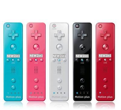Wiimote Built in Motion Plus Inside Remote Controller Fit For Wii &Wii U 5 Color