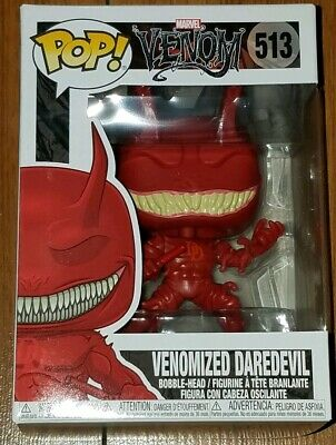 Funko Pop Marvel #513 Venomized Daredevil Venom In Hand Now