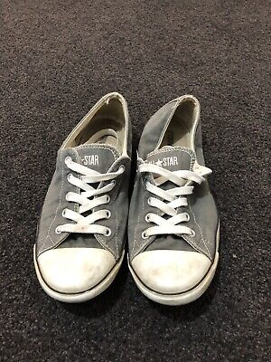 Converse Chuck Taylor All Star Thin Sole Grey  leather sneaker size 9