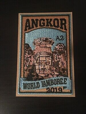 24th World Scout Jamboree 2019 Subcamp Angkor A2 Patch WSJ