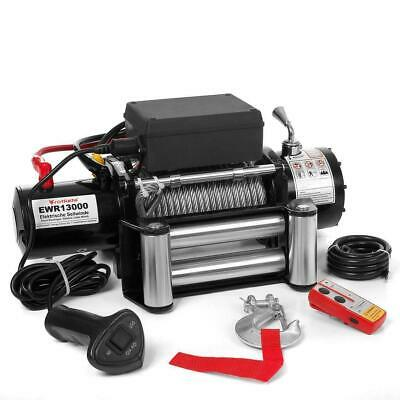 Powerwinch Argano Verricello Elettrico 12V Telecomando Wireless 5909 Kg @Rx
