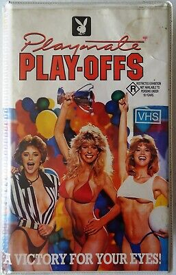 PLAYBOY - PLAYMATE PLAY-OFFS Australian Mega Rare 1986 Palace Video - VHS Issue