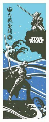 STAR WARS TENUGUI Japanese Cotton Fabric Hand Towel MADE IN JAPAN 90・・・4cm