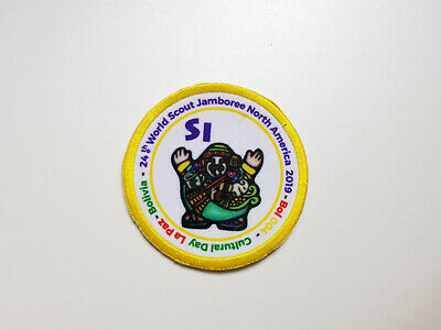 24th World Scout Jamboree 2019 Bolivia Contingent Cultural Day Patch