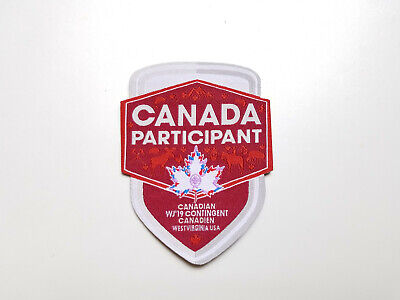 24th World Scout Jamboree 2019 Canadian Contingent Participant Patch