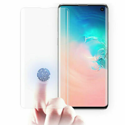 Full 6D Glue UV Tempered Glass Screen Protector For Samsung Galaxy S10 Plus S10e