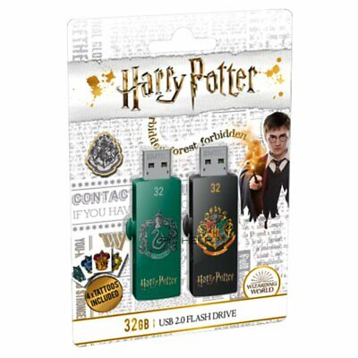 Cle usb 32go Emtec clef usb 32 go Harry Potter Hufflepuff Slytherin lot 2 clés