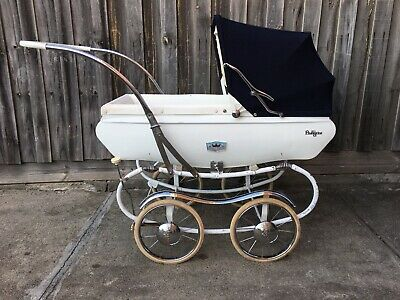 VINTAGE RETRO COLLECTABLE 1960s CYCLOPS PEDIGREE CARRIAGE PRAM, DOLL COLLECTOR