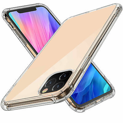 For Apple iPhone 11 2019 Shockproof Clear Soft Silicone Protective  Case Cover