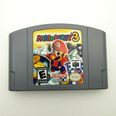 NEW AU version MARIO PARTY 3 Video Game Card For Nintendo 64 console N64