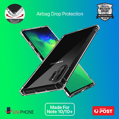 【Shockproof】Samsung Galaxy Note 10 + pro Plus 5G Case Clear Slim Bumper Cover