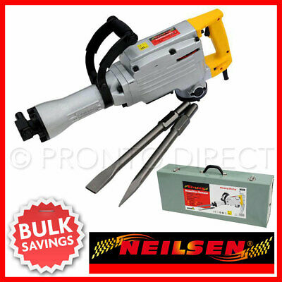 1500w Electric Breaker Demolition Hammer / Chisel 110v (Genuine Neilsen CT0904)