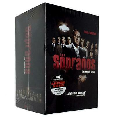 The Sopranos:  Complete Series  DVD 30-Disc Box Set Brand New Sealed