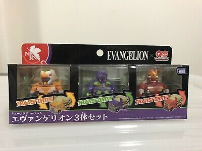 Evangelion Transformer Set Of 3 - Eva 00,01,02 From Japan