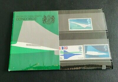1969 GB Pre-Decimal Presentation Pack Mint Stamps Concorde 1st Flight ST107
