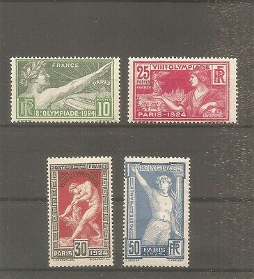 Timbre France Frankreich Jo 1924 N°183/186 Neuf* Mh