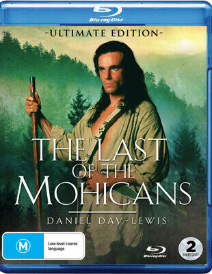 PREORDER - The Last of the Mohicans (Ultimate Edition)  - BLU-RAY - NEW Region B