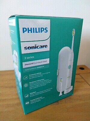 NEW Philips Sonicare 3 Series Electric Toothbrush & Diamond Clean Head HX6632/24