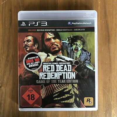 Red Dead Redemption -- Game of the Year Edition PS3 PlayStation 3