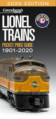 Greenberg's Guide - Lionel Trains Pocket Price Guide 1901-2020 (2020 Edition)
