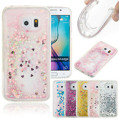 For Samsung A70 A50 A20 A30 A10 S7 S8 Case Bling Soft TPU Quicksand Back Cover