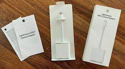Apple Lightning to USB 3 Camera Adapter | OEM | A1619 (MKOW2AM/A) - Grade B