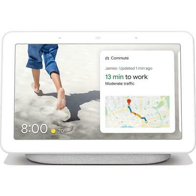 New Sealed Google Nest Home Hub with Google Assistant (GA00516-CA) - Chalk