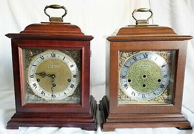 Two Seth Thomas Mantle Clocks A403-001 6913 7806 For Parts And Repairs