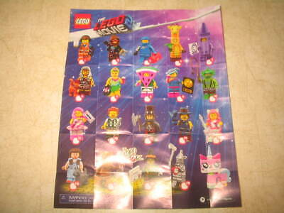 New The Lego Movie 2 Minifigure Series 71023 - PICK YOUR MINIFIGURES **READ**