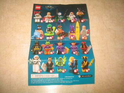 New The Lego Batman Movie Series 2 - 71020 - PICK YOUR MINIFIGURES **READ**