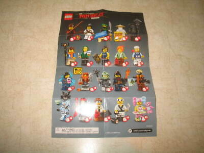 New The Lego Ninjago Movie Series 71019 - PICK YOUR MINIFIGURES **READ**