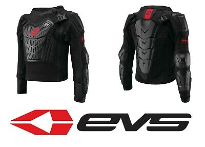 EVS Sports Boys Youth Comp Suit Black Medium COMPS-BK-YM