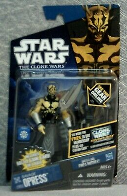 """Savage Opress Action Figure - Star Wars - The Clone Wars - 3-3/4"""" - By Hasbro"""