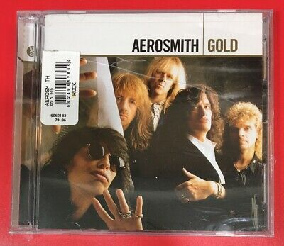 "GOLD by AEROSMITH (2 CDs, 2004 - USA - Geffen) BRAND NEW, ""FACTORY SEALED"""