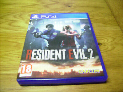 Resident Evil 2 -ps4 (Sony PlayStation 4, 2019) Remake