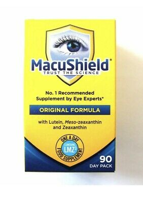 Macushield Capsules - (Pack of 90).Original Formula. New Sealed Free P&P