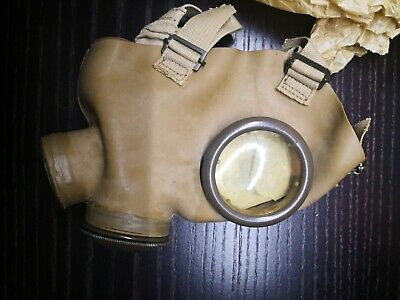 Maschera antigas gas mask pc40 Ww2 seconda guerra mondiale