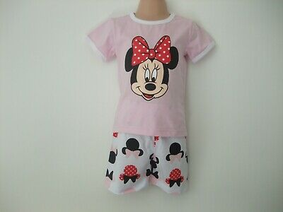 Childrens Minnie Mouse Pyjamas age 4 years - NEW