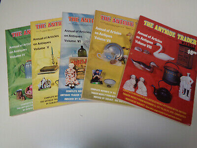 The Antique Trader Weekly Annual Issues (5) 1975 1976 1977 1978