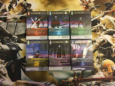 Opus 5 Final Fantasy TCG Commons and Foils