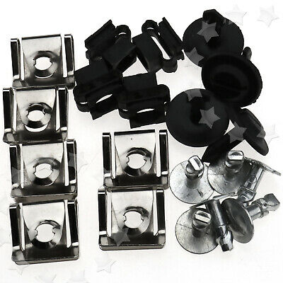 Undertray Guard Engine Under Cover Fixing Fitting Clips Kit For AUDI A4 A6 AU VW
