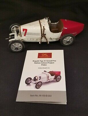 1:18 CMC 1924 Bugatti T35 Poland red and white M-100-003 Diecast