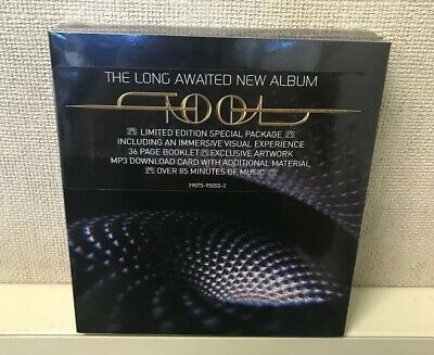 "Tool - Fear Inoculum CD Tri Fold with 4"" HD Screen DELUXE EDITION *SHIPS TODAY*"