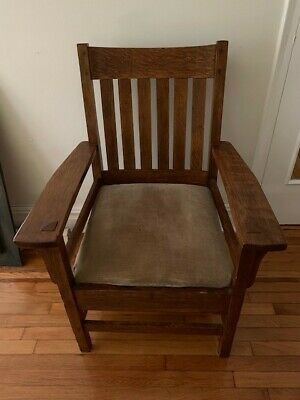 Mission Oak Arm Chair in decent condition