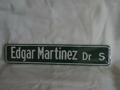 Hall of Famer Edgar Martinez SGA Replica Street Sign, 8/11/19