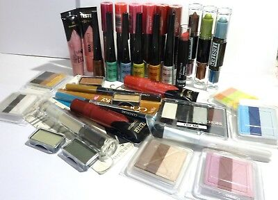 Max Factor & Covergirl 35 ITEMS Lipgloss eyeshadow Makeup Pack new