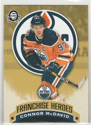 18-19 Opc Coast To Coast Canadian Tire Franchise Heroes Connor Mcdavid  Gretzky