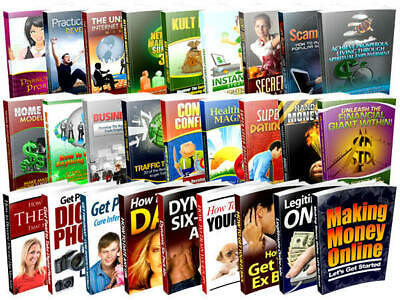 2000 ebooks PLR with resell rights
